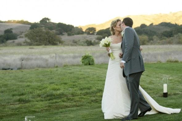 Outdoor california wedding