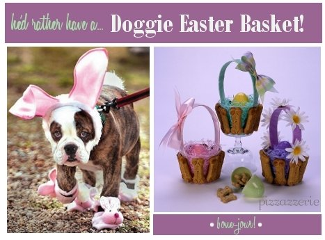 Doggie Easter Baskets