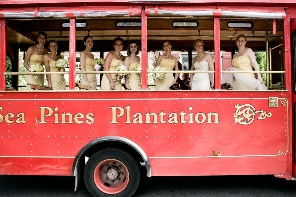 Red Carriage Wedding