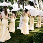 Yellow Parasol Wedding