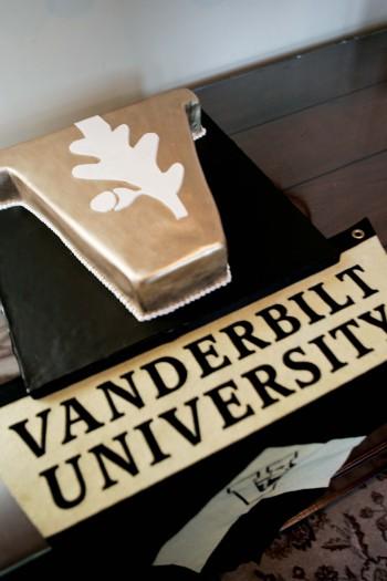 Vanderbilt Groom's Cake