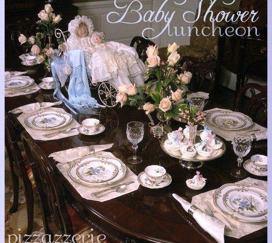 Baby Shower Luncheon: Pressed Sugar Bassinets