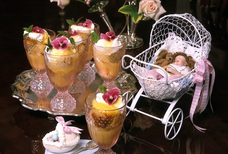 Three Trifle Desserts