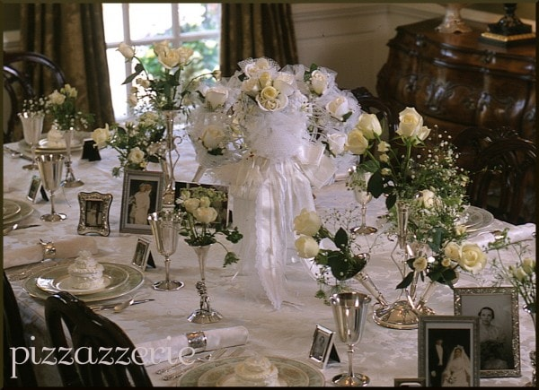 Bridesmaid Luncheon Table