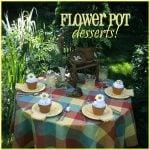 Flower Pot Baked Alaska Desserts