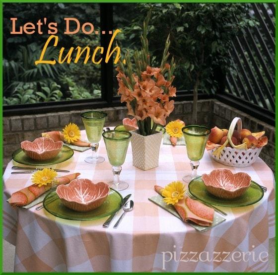 Ladies Luncheon Table Design