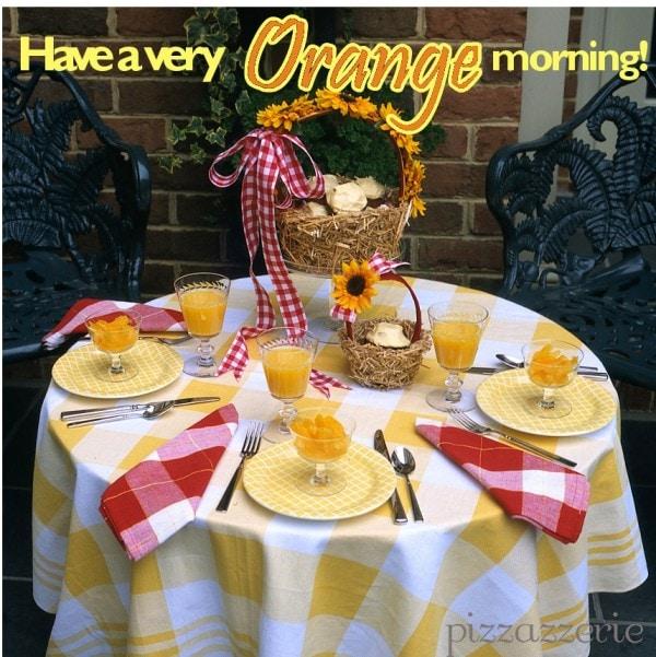 OrangeTablescape
