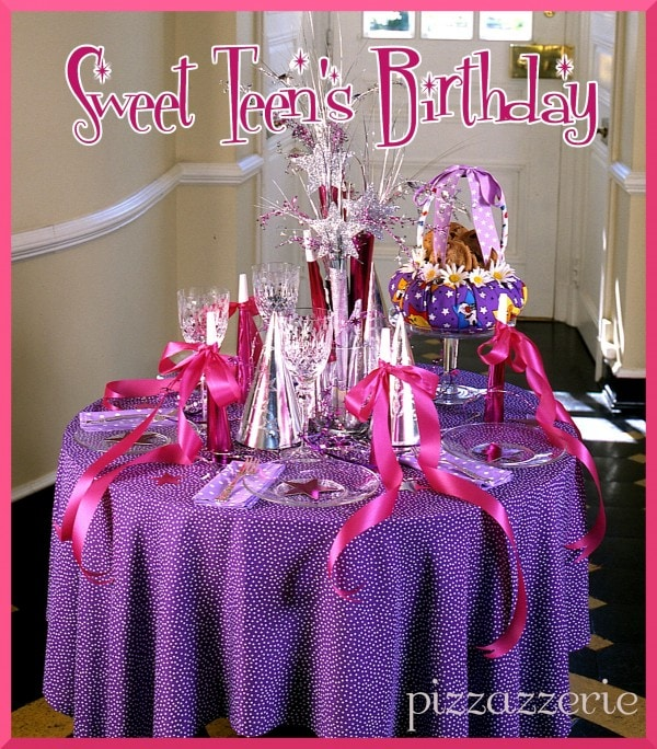 Sweet Teen's Birthday Party
