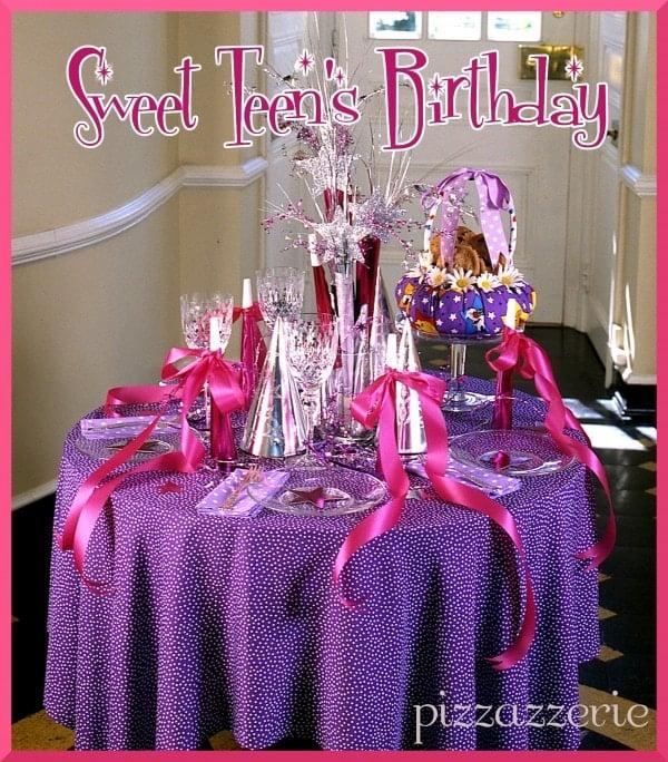 Sweet Teen's Birthday Party