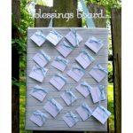 Blessings Board for Baby Shower