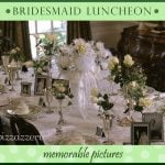 Bridesmaids' Luncheon Table