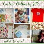 Giveaway: Custom Baby Clothes by JTP