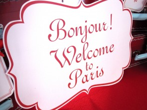 Madeline Paris Party Sign