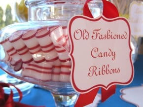 old fashioned candy ribbon