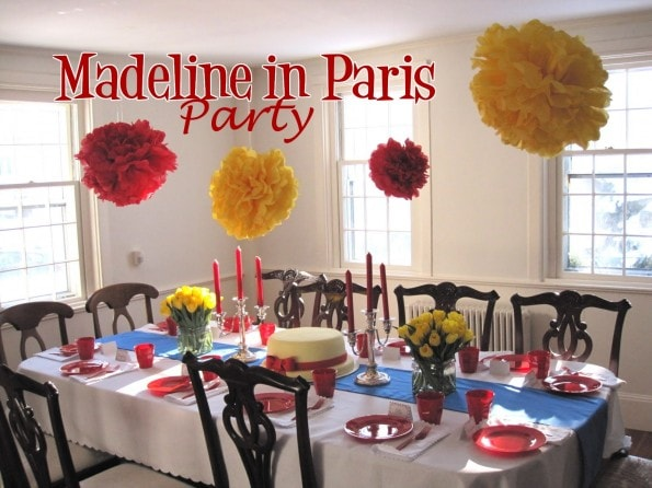 Madeline in Paris Party