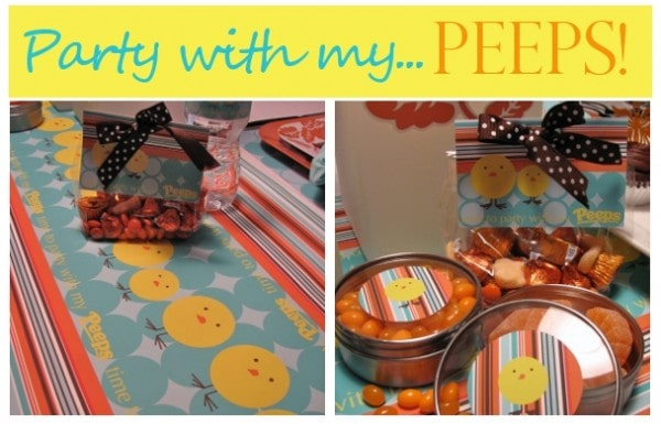Aqua and Orange Tablescape Party