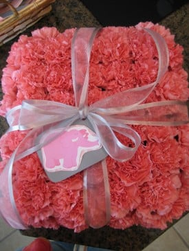 Floral Centerpiece for Baby Shower