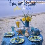Beach Fun in the Sun Tablescape