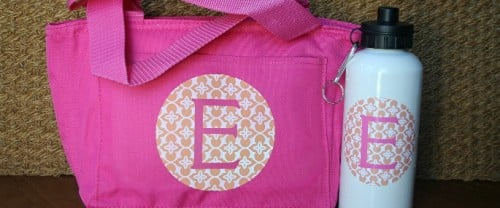 Insulated Lunch Tote Monogrammed