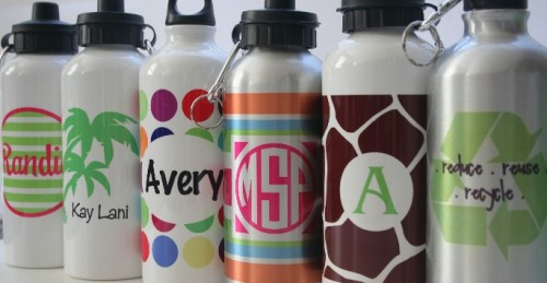 Aluminum Personalized Water Bottles