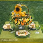 Sunflower Mornings Table