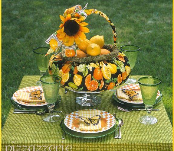 Sunflower Mornings Table