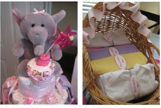 Elephant Baby Diaper Cake