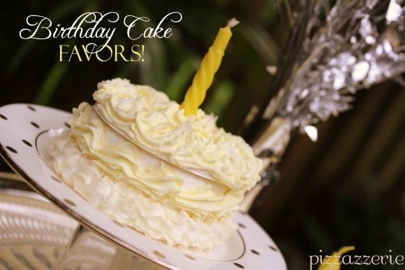 Mini Birthday Cake Favors