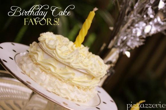 Mini Birthday Cake Favors