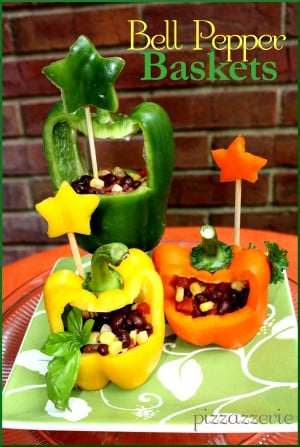 Bell Pepper Baskets