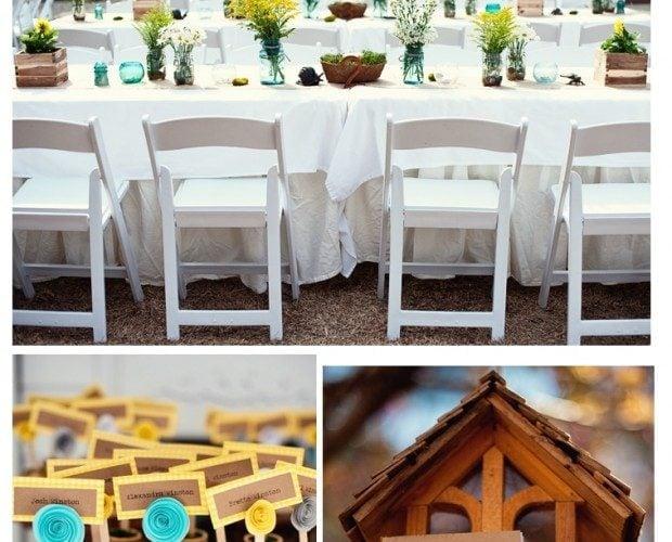 Wedding Showcase {7} Yellow & Gray