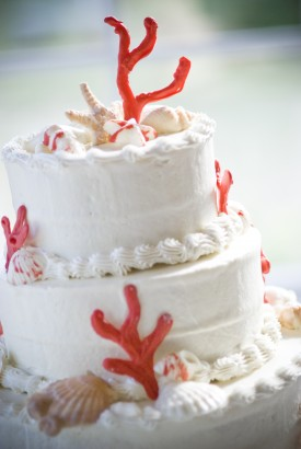 Coral Carolina Wedding