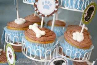 Dog Puppy Cupcakes