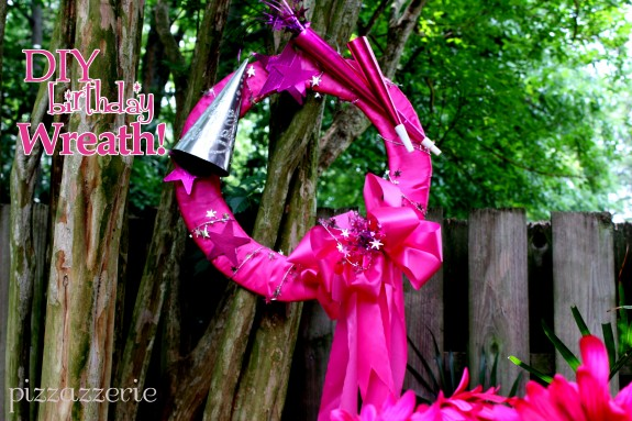 Do it Yourself Birthday Wreath