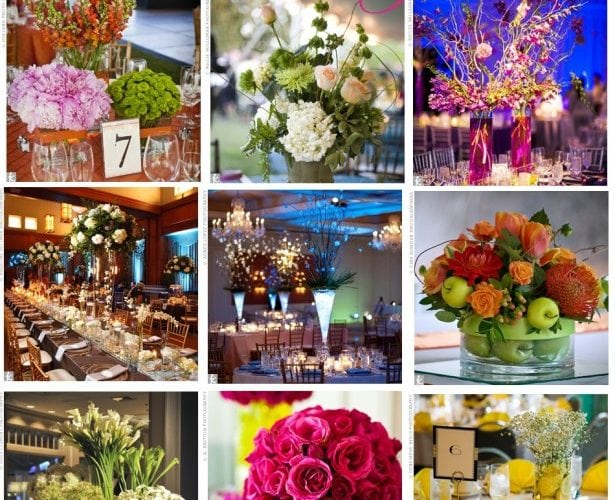Wedding: Floral Centerpieces