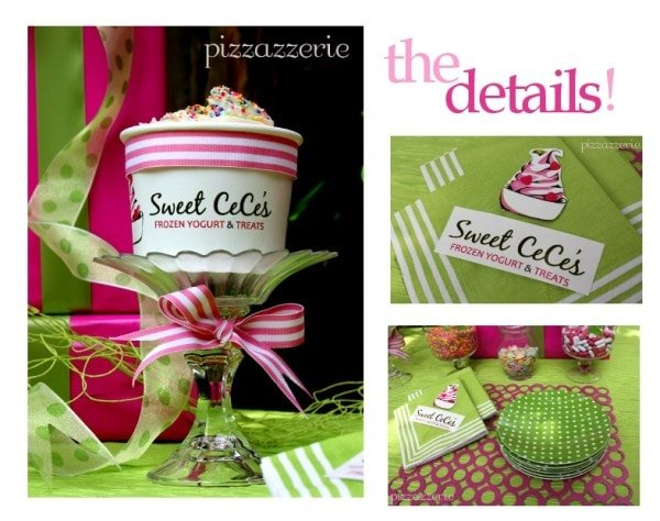 Sweet CeCe's Lime Green and Hot Pink Party