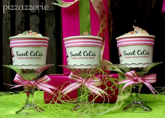 Sweet CeCe's Frozen Yogurt Party