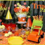 Orange & Yellow Truck Party