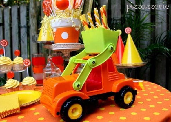 Orange Truck Party