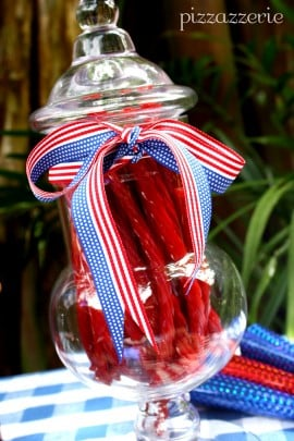 Memorial Day Candy Jar