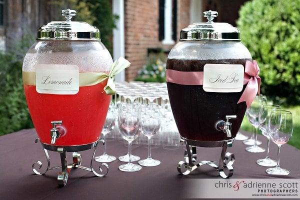 Drinks at Wedding