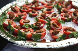 Strawberry Appetizers