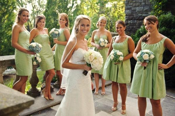 Cheekwood Green Bridesmaid Dresses
