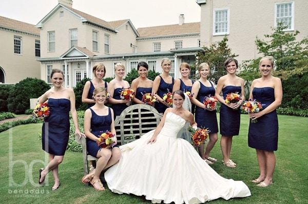 Bride and Bridesmaids Portrait
