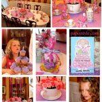Little Girl's Tea Party