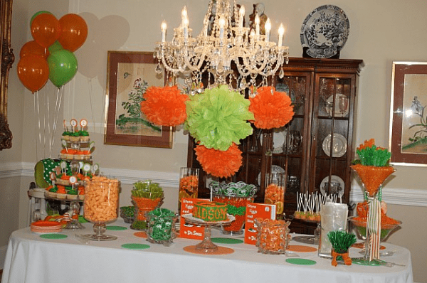 Green and Orange Party, Dr. Seuss