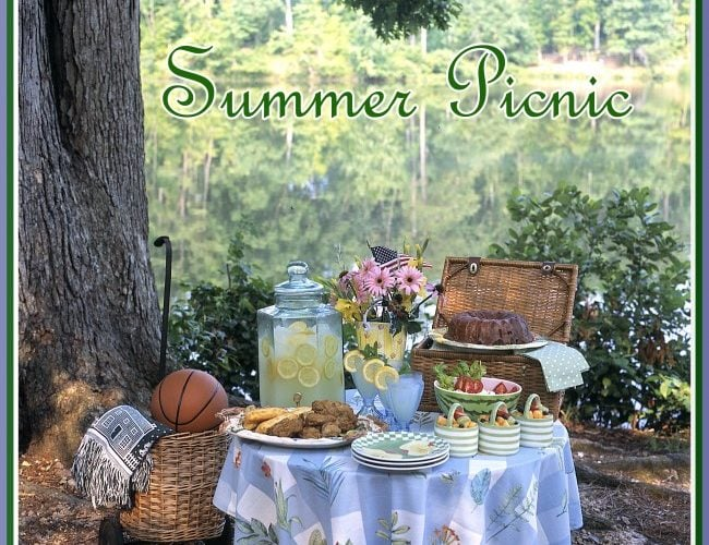 Summertime Picnic for Father's Day