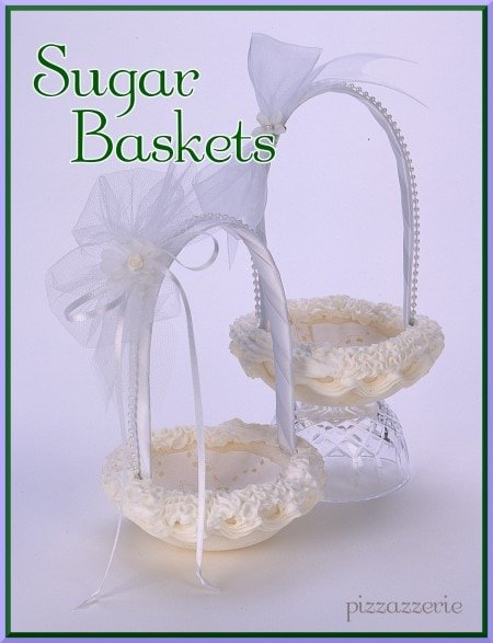 Wedding Sugar Basket