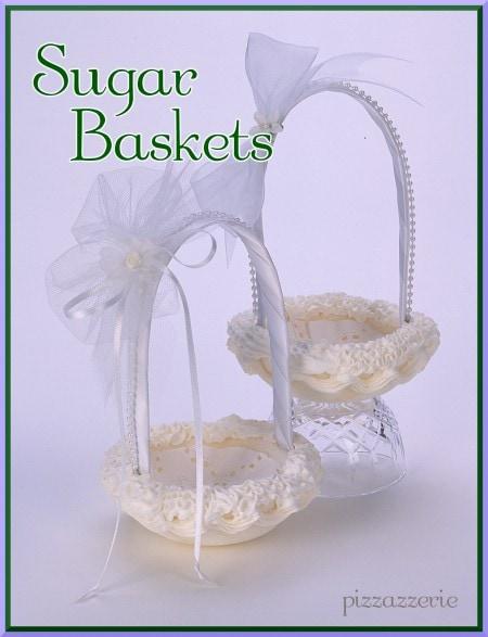 Wedding Sugar Basket