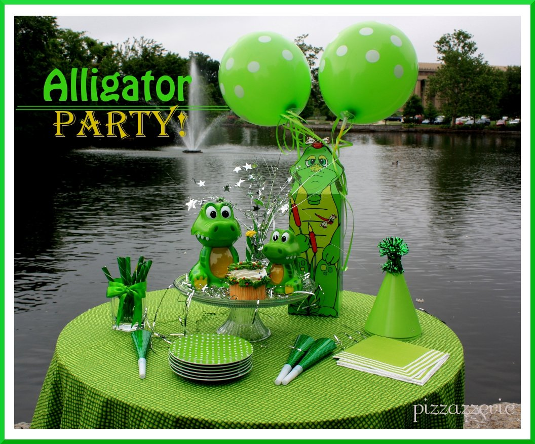 Alligator party pizzazzerie alligator party filmwisefo
